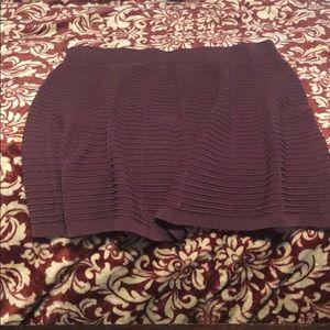 Loft Flare Skirt Burgundy size 14